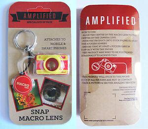 AMPLIFIED SNAP MACRO LENS lente macro per smartphone, cellulare