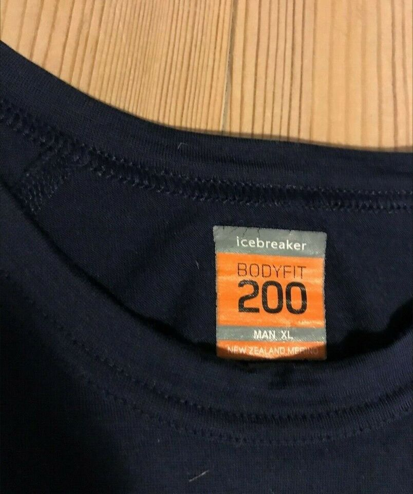 Undertøj, IceBreaker 200, str. BodyFit XL