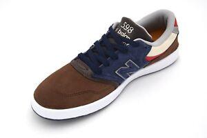 Mancha Herencia Corchete  New Balance Hombre Tiempo Libre Informal Tenis Zapatos Gamuza código  NM598TRI | eBay