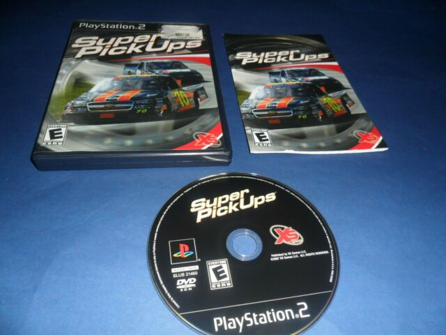 Super PickUps (Sony PlayStation 2, 2007) PS2 Game