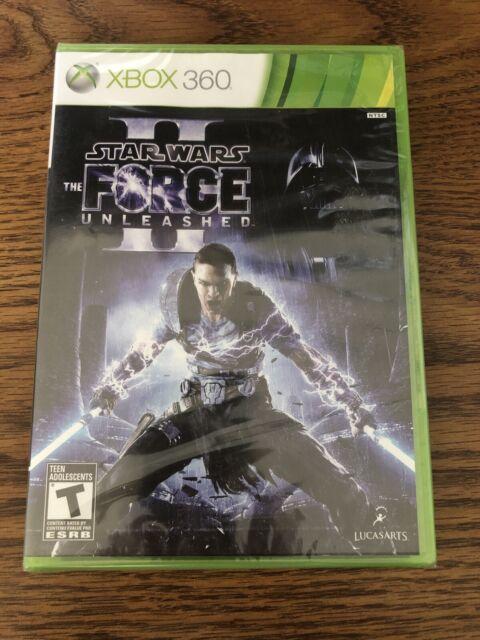 Factory Sealed Star Wars The Force Unleashed II XBOX 360 NTSC-U/C RARE