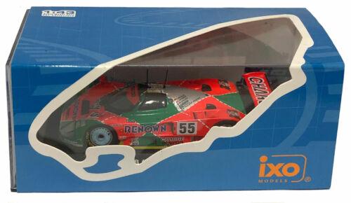 IXO Mazda 787B #55 Le Mans Winner 1991 Weidler//Herbert//Gachot 1//43 Scale
