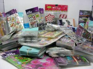 HUGE-Lot-40pk-Jolee-039-s-Sticko-K-amp-Company-Stickers-amp-Scrapbooking-embellishments