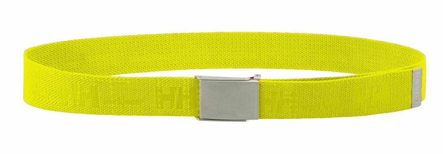 Helly Hansen Gürtel 79528 Hh Logo Webbing Belt 360 Yellow