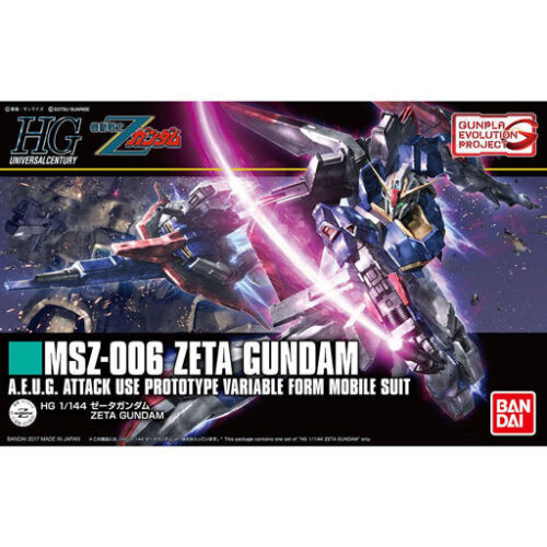Bandai HGUC 203 GUNPLA Evolution Project ZETA GUNDAM 1//144 scale kit Japan