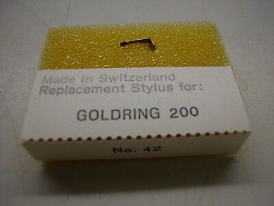 42 Ersatz Tonnadel Replacement Stylus Goldring 200 Der Preis Bleibt Stabil