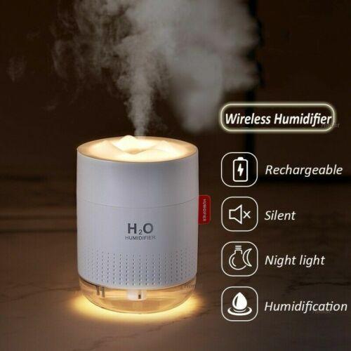 500ml Air Humidifier USB Aroma Water Mist Diffuser Light Umidificador