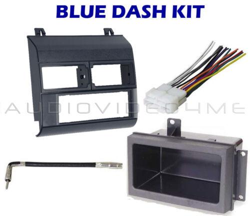 Chevy GMC Pickup Truck 88-94 BLUE Radio Dash Kit Combo  C K 1500 89 90 91 92 93