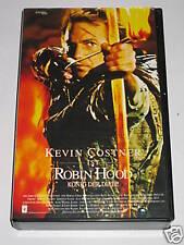 Robin Hood - VHS/Abenteuer/Kevin Costner/Christian Slater/Morgan Freeman