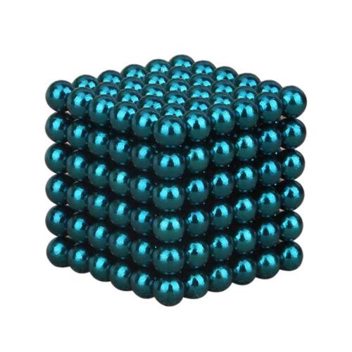 216 Stück Neodyme 5mm Magnete Kugeln Dekompression Spielzeug Stresskiller DE