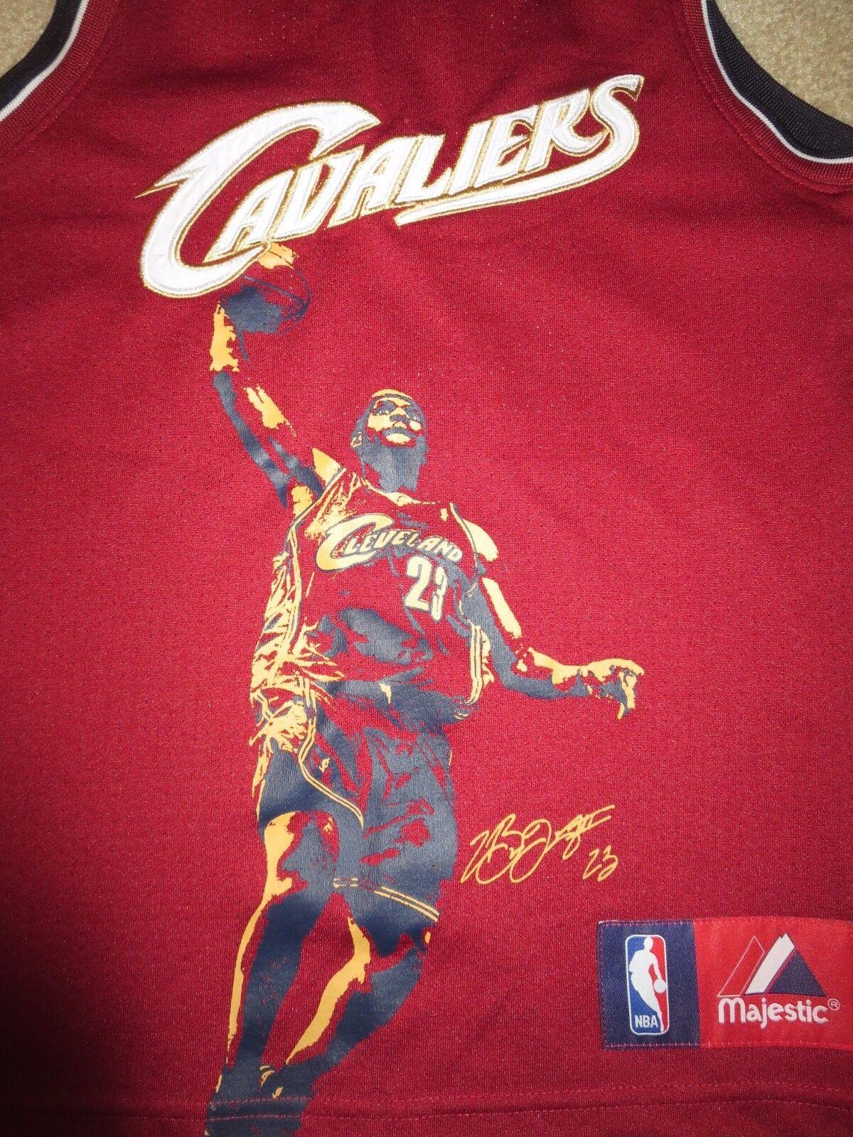 Lebron James  23 Cleveland Kavaliere NBA Finals Trikot Trikot Trikot Jugendliche M 10-12 Kind 5c0461
