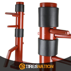New-Red-Wing-Chun-Wooden-Training-Target-Dummy-Martial-Art-Kung-fu-Muk-Yan-Jong