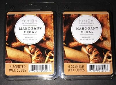 2.5 Oz Each 2 Packs SCENTSATIONALS FUSION Scented Wax Cubes SOUL SEARCHING