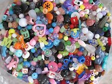 6 POUNDS LBS PLASTIC BEAD MIXED LOT ~ CRAFTS JEWELRY SCRAPBOOKING