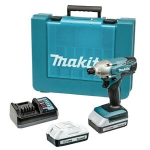 makita td127dwe 18v 1 3ah cordless impact driver drill 220v charger ebay. Black Bedroom Furniture Sets. Home Design Ideas