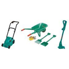 Bosch Toy Garden Set Kids Wheelbarrow Rake Spade Gloves Outdoor Playset Backyard