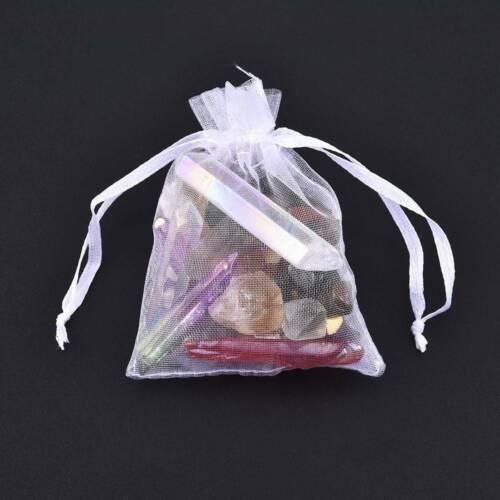 Lots Quartz Crystal Rainbow Angel Aura Point Sphere Rough Mineral Reiki Healing