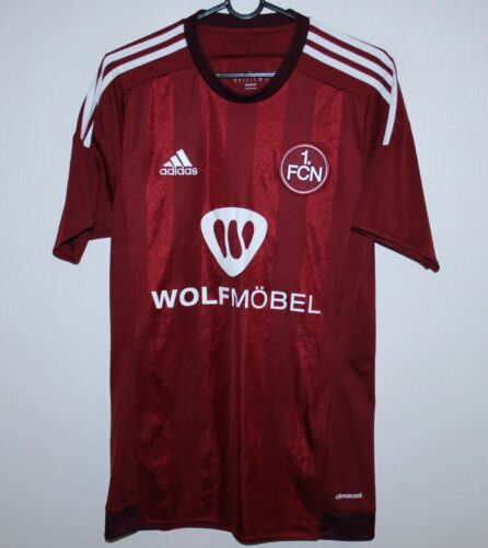 1. FC Nurnberg Germany home shirt 1516 Adidas Size S