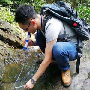 Mini-Portable-Water-Purifier-Purification-Pump-Filter-Trekking-Camping-Blue