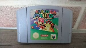 Jeu Game Super Mario 64 pour console Nintendo 64 N64 version PAL