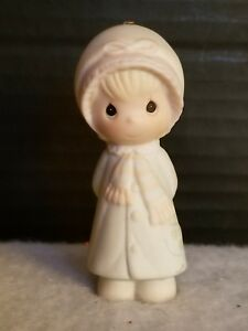 Vintage-Precious-Moments-1984-Christmas-Ornament-E5390-Collectibles