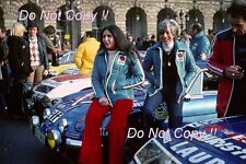 Michele Mouton Alpine-Renault A110 1800 Monte Carlo Rally 1976 Photograph 2