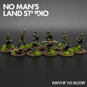 Pro-Painted-1-72-Scale-Waffen-Ss-Squad-10-Men-20mm-Scale