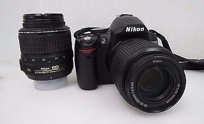 Nikon D3000 Digital Camera-Nikon AF-S DX Nikkor 18-55mm & 55-200mm