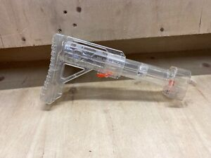 Nerf-N-Strike-Clear-Extendable-Shoulder-Stock-Extension-Attachment-Rampage-Rare