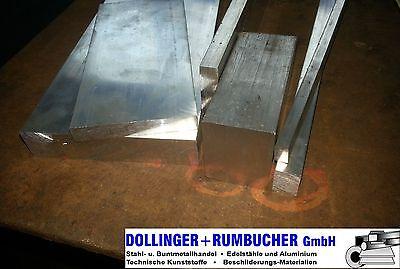 Aluminium Flachstange AlMgSi05 15x3mm L/änge 25mm 2,5cm auf Zuschnitt