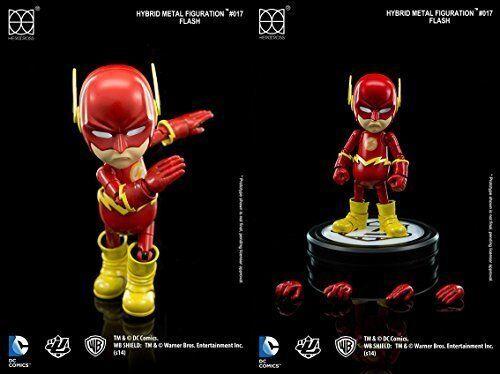 HEROCROSS Hybrid Metal figuración 017 DC Comics El Flash Diecast Figura de acción