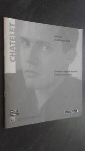 Programa Musical Recital Lona Monograma de La Chatelet 20Mars2006 Mezzo El Id