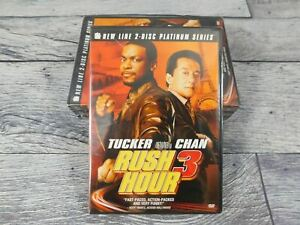 Rush Hour 3 (Two-Disc Platinum Series) [DVD] NEW Pack of 4