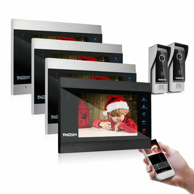 Sprechanlage 1 Familienhaus Türsprechanlage Türklingel mit Kamera und Türöffner