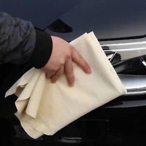 25-40-cm-Extra-Gamsleder-Tuch-Auto-Reinigung-Waschen-Shammy-Trockentuch