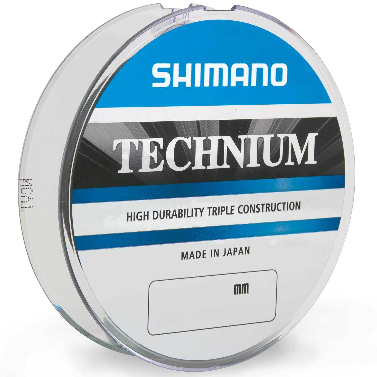(0,02eur m) Shimano carpa filo lenza TECHNIUM GRIGIO SCURO 1530m 0,25mm