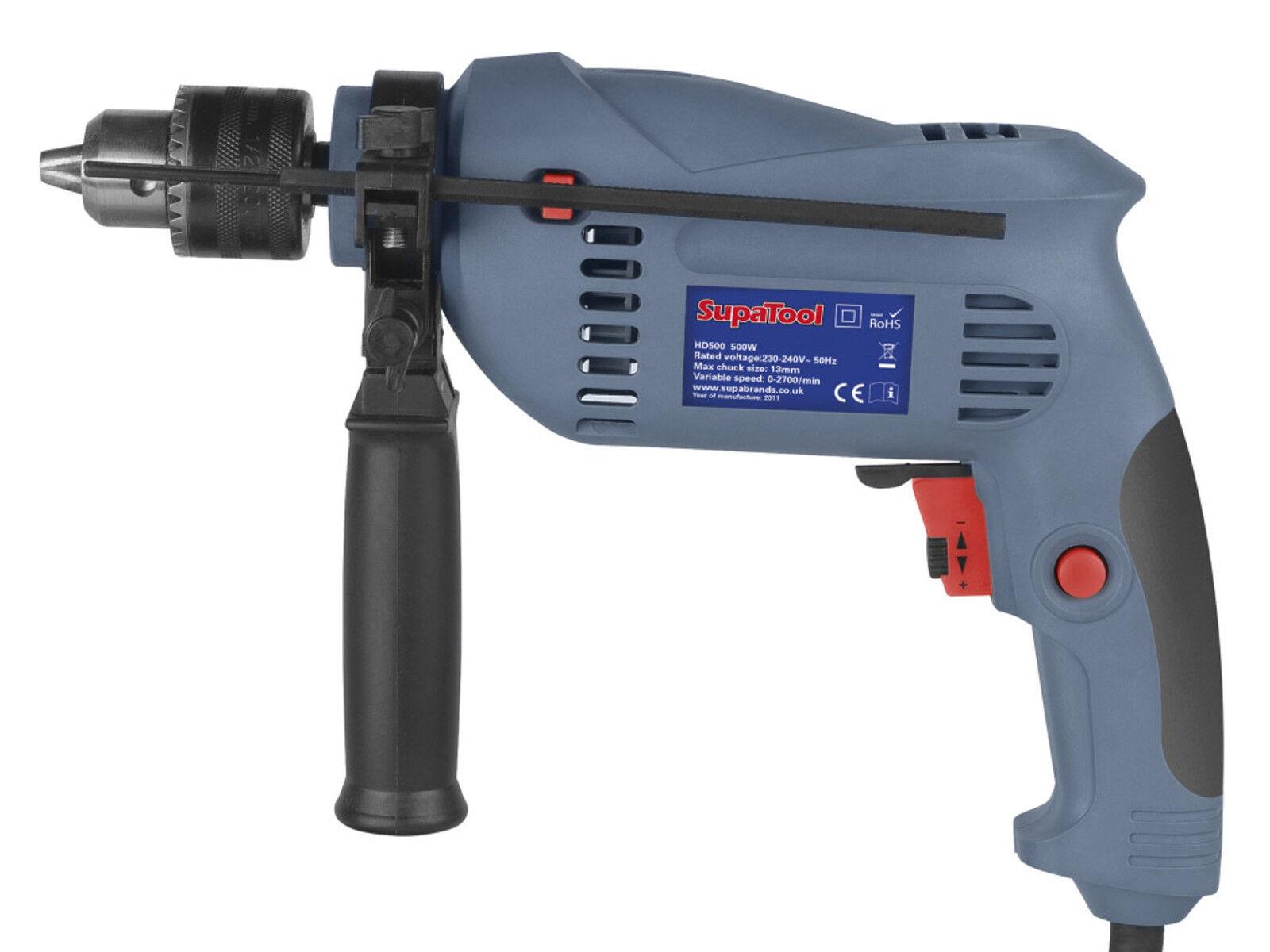 500 W Elektrische Schlagbohrer - variable Geschwindigkeit - EINSTELLBAR