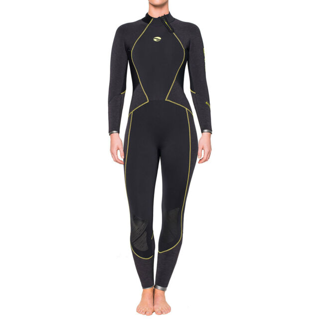 bare Evoke 5mm Women s Full Wetsuit Black Size 8. +.  409.95Brand New. Free  Shipping 240a00ef3