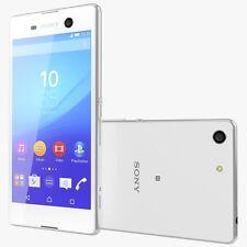 New Sony Xperia M5 E5663 White 4G LTE 16GB 21MP 3GB RAM WIFI Unlocked Smartphone