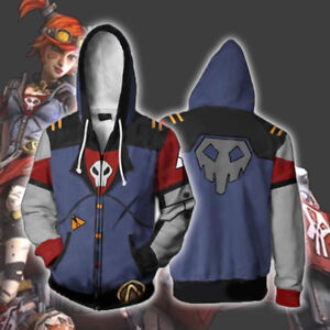 Newest-Borderlands-2-hoodie-Sweatshirt-Cosplay-Costume-zip-up-coat-jacket