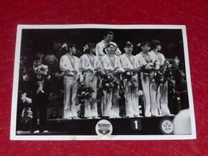 Col-J-DOMARD-GYMNASTIC-ORIGINAL-PHOTO-NADIA-COMANECI-XXe-WC-FORT-WORTH-US-1979