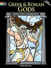 Greek and Roman Gods Stained Glass Coloring Book by Arkady Roytman (Paperback, 2009)