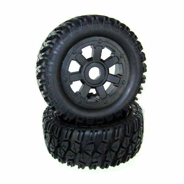 Redcat Racing Rampage Wheels & Tires 10mm Part FREE US SHIPPING