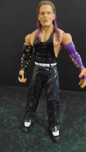 Wwe Action Figure Jeff Hardy Hardy Boyz Purple Hair Great Sculpt