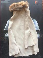 Coo Modelos Richard el Lionheart Piel Crema largo con capa Suelto Escala 1/6th