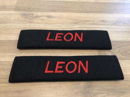 2XSeat Belt Pads Gift Seat Leon Fr Technology Dynamic Se Tdi Eco Tsi Cupra Sport