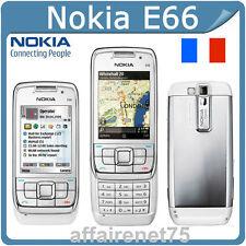 Téléphone Portable Nokia E66 GSM WCDMA WIFI Bluetooth 3.15MP caméra
