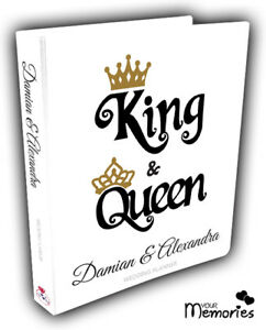 Wedding-Planner-Diary-Journal-Organiser-King-amp-Queen-Engagement-present-Gift