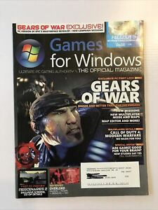 Games For Windows The Official Magazine Issue #9 Aug. 2007 Gears of War