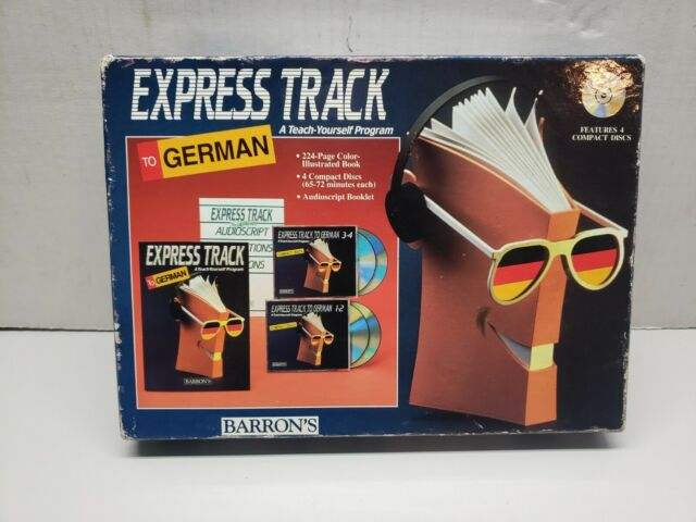 Express Track to German: A Teaching yourself program